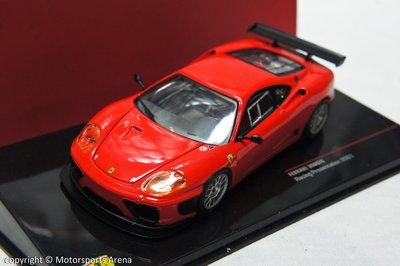【超值特價】1:43 IXO Ferrari 360 GTC Racing Presentation 2001