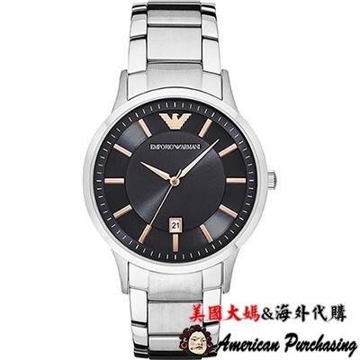 美國大媽代購 EMPORIO ARMANI 亞曼尼手錶 AR2514 優雅紳士 時尚型男計時腕錶 手錶 歐美代購