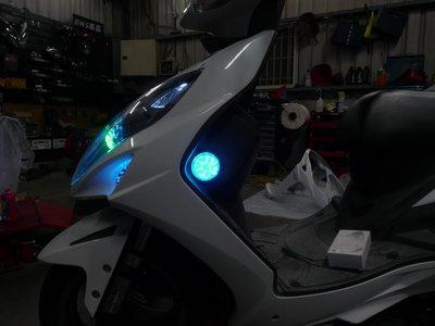 小嘉工作室 桃園 雷霆 勁戰 FORCE RACING S G6 G5  圓形 反光片 駐車燈  傳統版本