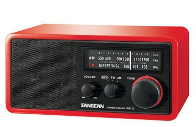 【kiho金紘】山進SANGEAN指針式AM/FM鑑賞家桌上型收音機 WR-11