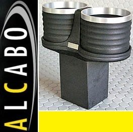 【JP.com】日本原裝 空運預購 ALCABO BENZ W463 G-CLASS 專用置杯架 (黑色+銀框)