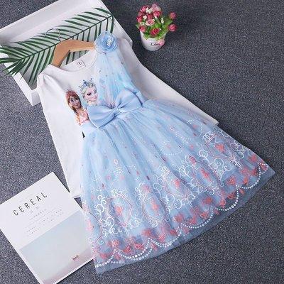 •*~ 辣媽咪衣飾小舖 ~*•❤童裝系列❤Y980941韓版大童冬款加絨加厚冰雪奇緣艾莎公主洋氣長袖洋裝(披風+魔法棒)