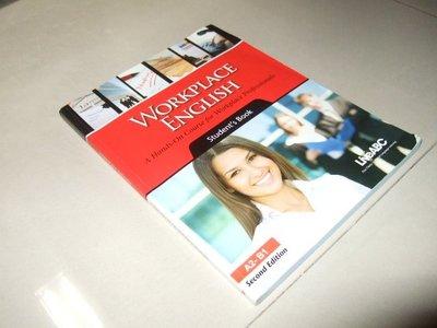 古集二手書41 ~Workplace English A2-B1 含光碟 劃記多 9789866406171