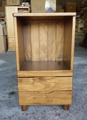 美生活館 鄉村傢俱訂製 紐西蘭松木原木 古銅色 電器櫃 餐櫃 收納櫃 茶水櫃 (也可三只合併購買) 也可修改尺寸與顏色