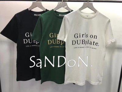 SaNDoN x『SLY』實拍官網尚未上架 字母長板TEE上衣 200521