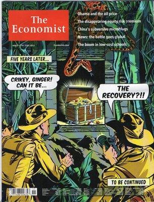 滿5免運【經濟學人雜誌ECONOMIST】美國經濟復甦+歐巴馬及油價+中國破壞性微博+股票風險溢價消失2012週刊免競標