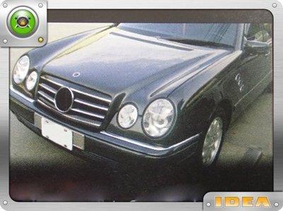 泰山美研社 D2420 BENZ W210 E-CLASS 95-99年 CL款 2線大星 黑色 水箱罩