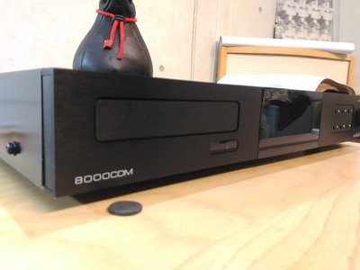 英國紳士Audiolab 8000CDM 經典CD轉盤~ 讀取及螢幕有問題,當故障品賣