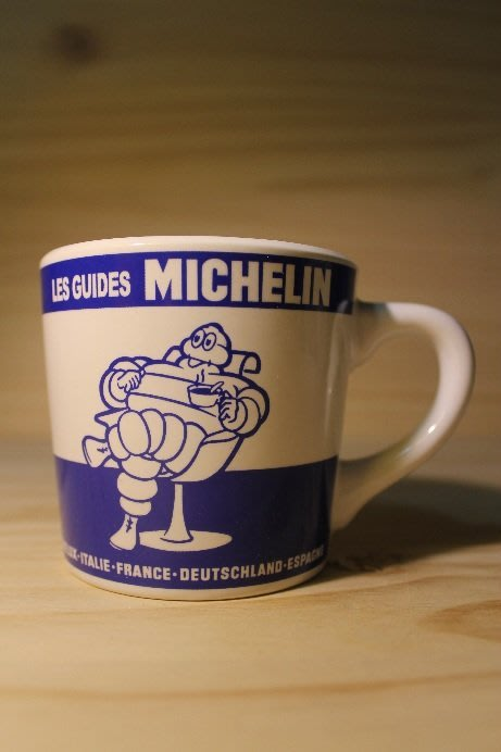 (I LOVE樂多)MICHELIN 米其林 人偶象徵印刷 馬克杯 (藍色款)多種相關商品供你選擇