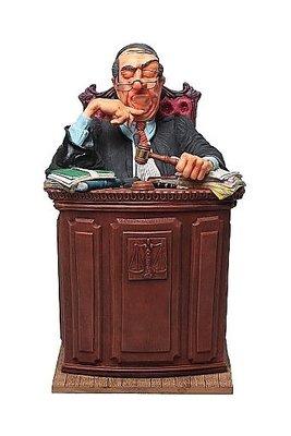 點點蘑菇屋 歐洲進口精緻法國社會寫實派設計師FORCHINO系列擺飾-職業系列之法官 免運費 此款請先詢問有無現貨