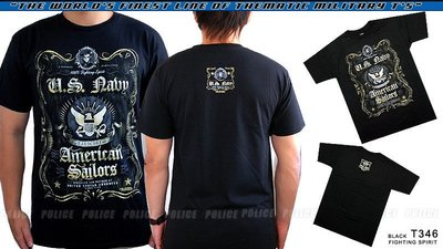 【ARMYGO】美國 7.62 軍事T恤 -海軍系列 -USN 'FIGHTING SPIRIT'