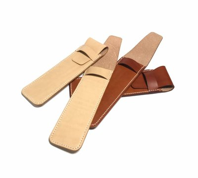 【IAN X EL】植鞣革簡約鋼筆套 鋼筆袋 單支 手染 純手工皮件