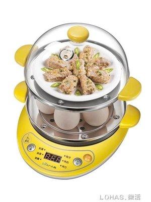 煮蛋器迷你雙層蒸蛋器自動斷電家用不銹鋼小型煮雞蛋羹機神器