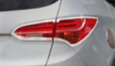 DJD19061533 TOYOTA 豐田 2014+ VIOS 鍍烙 尾燈飾框