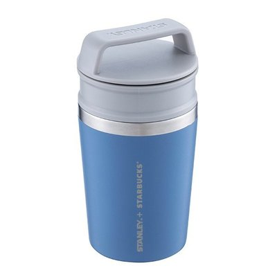 STARBUCKS × STANLEY 星巴克聯名商品8OZ MDB不鏽鋼杯(丹寧藍)
