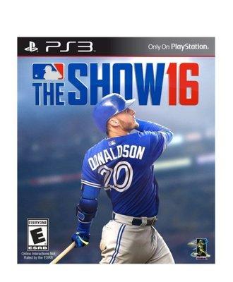PS3 MLB The Show 16 PlayStation 3 PS3 美版(台灣無代理)末代 補貨中