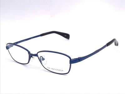 【本閣】增永眼鏡 masunaga 5001 純鈦 方框 日本手工眼鏡 大臉 彈性 濾藍光 金子眼鏡 999.9