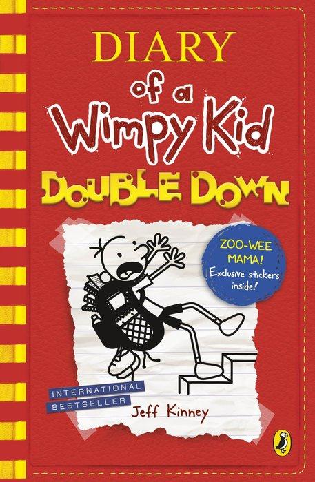 *小貝比的家*DIARY OF A WIMPY KID#11:DOUBLE DOWN/平裝/7~12歲