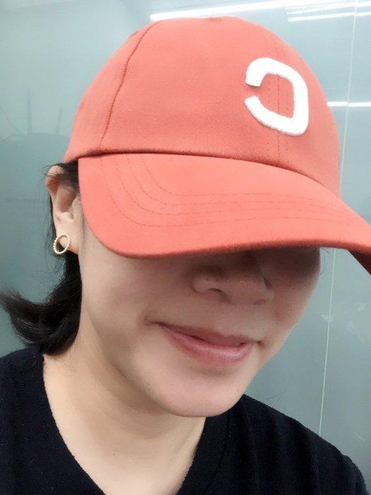 [阿菊潮流工作室] 韓國潮流棒球帽 C 英文字母帽 夏季必備 [免運費]