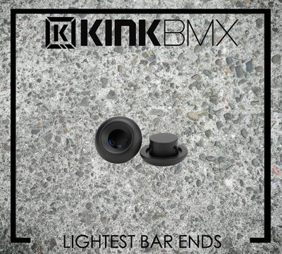 [Spun Shop] Kink BMX Lightest Bar Ends 金屬握把塞