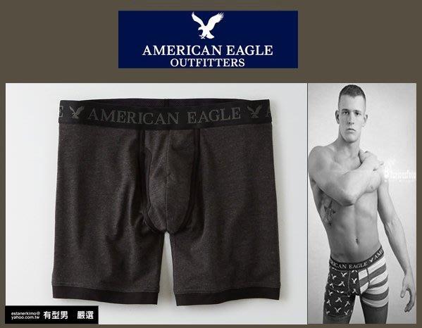 有型男~ AE American Eagle VS CK內褲Underwear長版闇黑灰 XS S M L XL 貝克漢