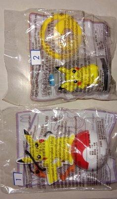 麥當勞 麥當奴 MacDonald 開心樂園餐 比卡超 寶可夢 玩具 2款