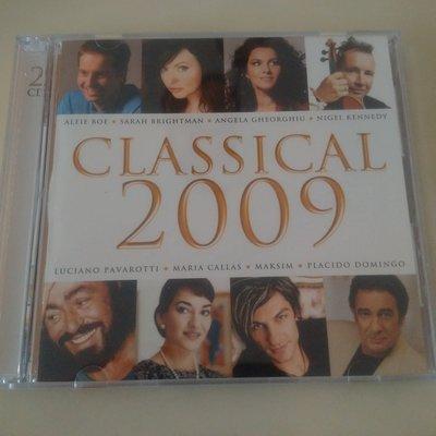 二手 博客來購入古典樂CD正品 【Classical 2009 星光禮讚 (2CD) (台灣版)】自有收藏CD出售