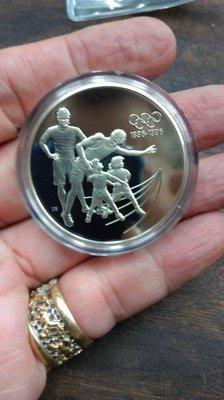 大草原典藏,奧運銀章,33,5克