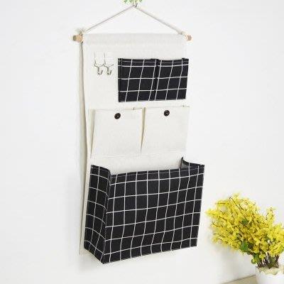 【免運費】收納掛袋學生宿舍收納神器 門后墻上雜物墻掛式收納掛袋衣櫥收納袋QD3C-Y365