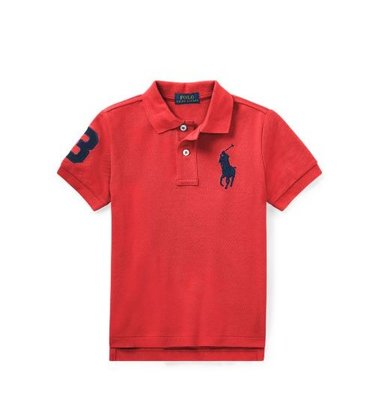 Ralph Lauren 男童POLO衫 尺寸5歲