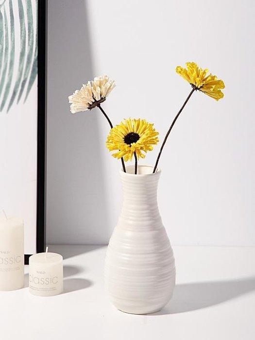 全館免運特價-塑膠花瓶家居插花花器客廳現代創意簡約小清新居家裝 【甜心】