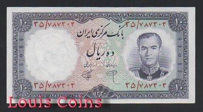 【Louis Coins】B630-IRAN--1961伊朗紙幣10 Rials