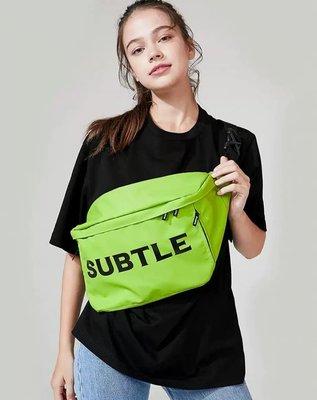 Subtle最新 PANTHER胸包 男女都適用 ,超百搭 斜挎包 運動大容量單肩包ins腰包-簡單有型.出門必備 防水