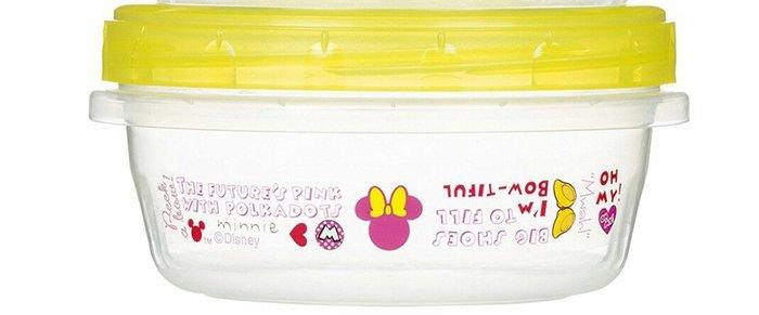 天使熊雜貨小鋪~【Ziploc】高密閉迪士尼保鮮罐-300ml 米妮  韓國製  全新現貨