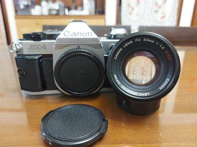 Canon AE1p單機身 + FD 50mm F1.4 SSC 鍍膜
