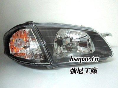 ☆☆☆強尼工廠☆☆☆全新MAZDA 福特 TIERRA 323 GENKI ACTIVA 黑框大燈+角燈