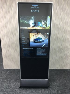 DETERMINATION KF4235T 移動式觸控電子看板