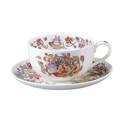 龍貓 日本Noritake 奶茶杯 咖啡杯組 (11-12月)宮崎駿 ♡LUCI日本代購♡空運