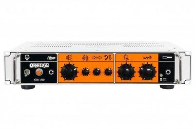 調音室嚴選 Orange OB1-500 貝斯擴大機 500瓦 Bass Amp Head 500W 全新商品 擴大機