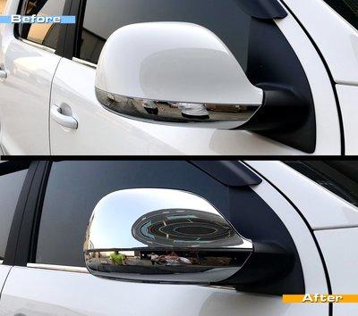 圓夢工廠 VW 福斯 Transporter T6 2015~2020 on 改裝 鍍鉻 後視鏡蓋 後照鏡蓋 照後鏡蓋
