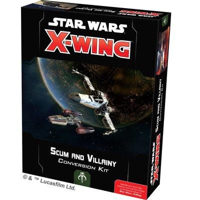 ☆快樂小屋☆ 星際大戰X翼戰機 惡棍及傭兵轉換包 X-wing Scum and Villainy 台中桌遊