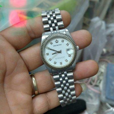 不鏽鋼 PROKING 蠔式大型錶 行走中 通通便宜賣 非 Z5 Rolex ETA OMEGA ORIENT 三眼錶 陶瓷錶