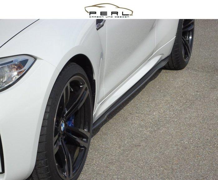 【樂駒】Perl Carbon Design BMW F87 M2 側裙 車側 飾板 碳纖維 輕量化 外觀 套件