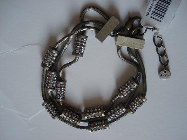 Abercrombie&Fitch A&F Layered Shine Bracelet古銅金手鍊手環現貨抵臺