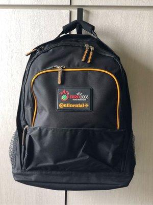 馬牌輪胎Continental 黑色電腦後背包 超大容量 酷黑經典背包 馬牌背包 可放15.6吋筆電