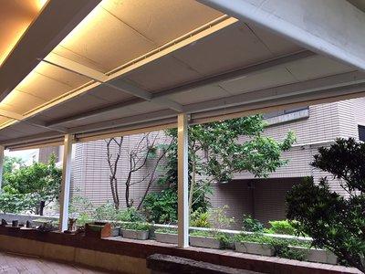 《 龍門帆布 》鋁架帆布、伸縮帆布、遮雨棚、遮陽棚、升降帆布