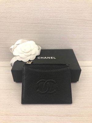 Chanel 大雙C  卡夾 名片夾 零錢夾(售出)
