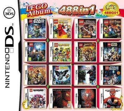 【花花百貨】NEW3DSLL 2DSLL NDSL NDS游戲卡樂高 蜘蛛人系列合集488G01