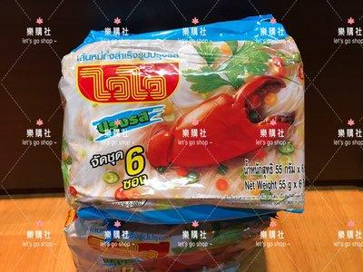 【預購】泰國 WAI WAI 螃蟹海鮮米粉/單包販售