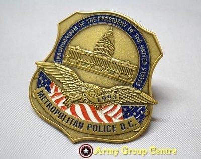 包郵 特價 現貨 美軍 US ARMY 軍迷徽章 個性金屬 軍章 安全扣別針 金銀色 可扣外套背包 $108